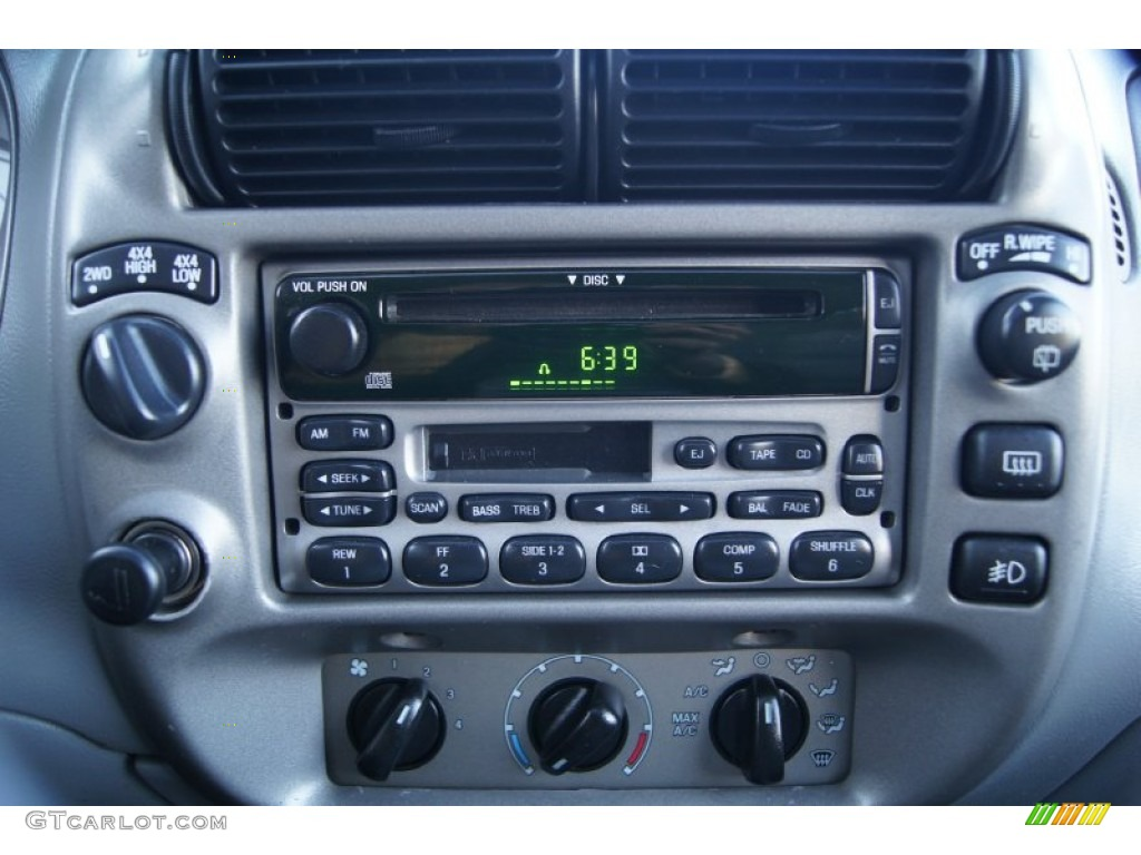 2003 Ford Explorer Sport XLT 4x4 Audio System Photo #64296519