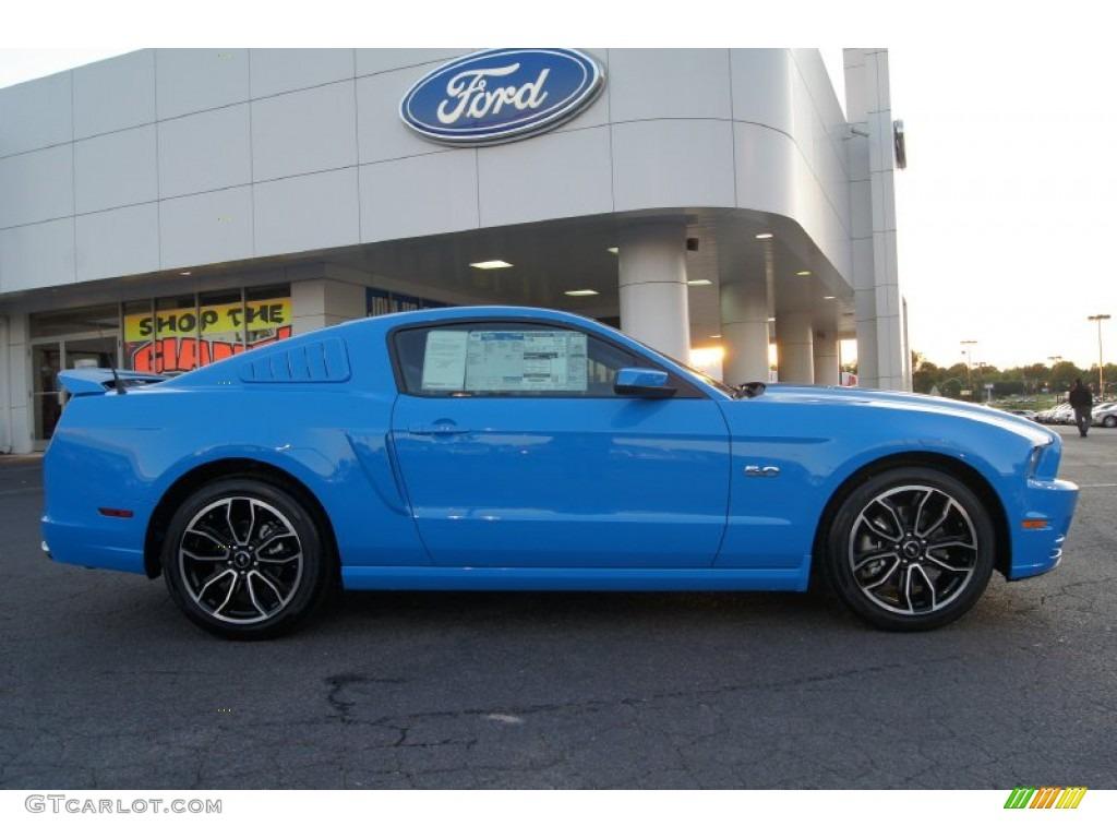 2013 grabber blue ford mustang gt premium coupe 64288897 gtcarlot com car color galleries