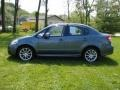 Azure Gray Metallic 2009 Suzuki SX4 Sedan LE