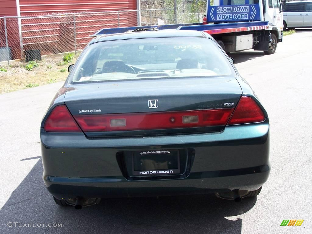 1998 dark emerald pearl honda accord lx v6 coupe 6413216 photo 2 car color. Black Bedroom Furniture Sets. Home Design Ideas