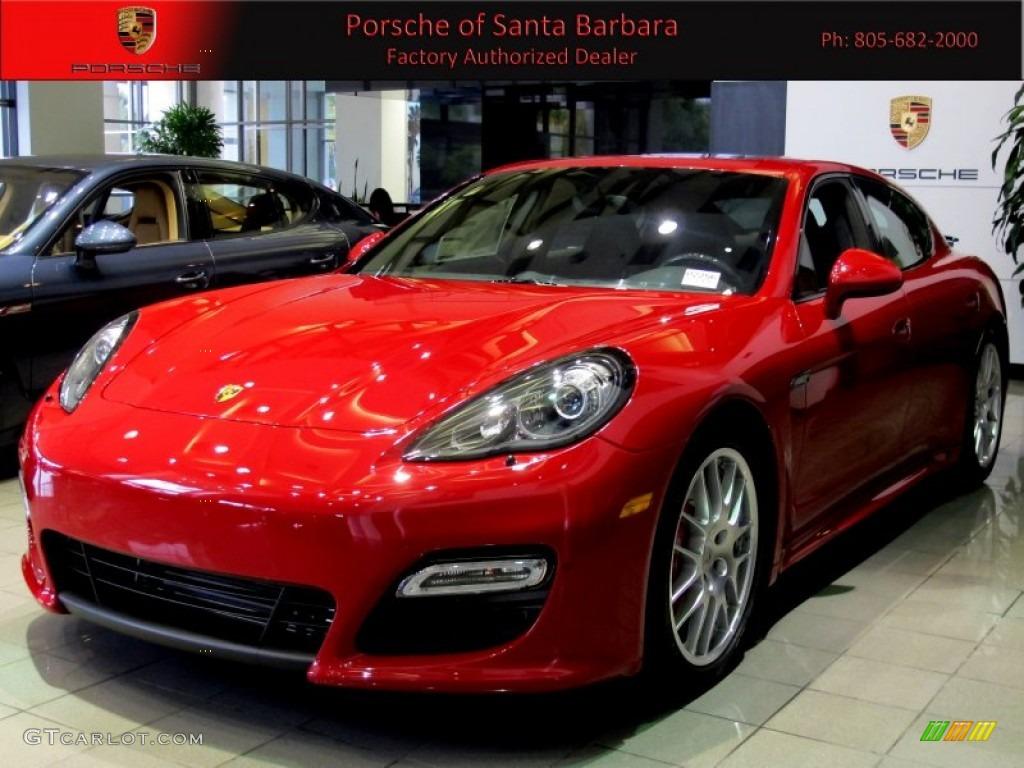 2013 Guards Red Porsche Panamera Gts 64288765 Photo 2
