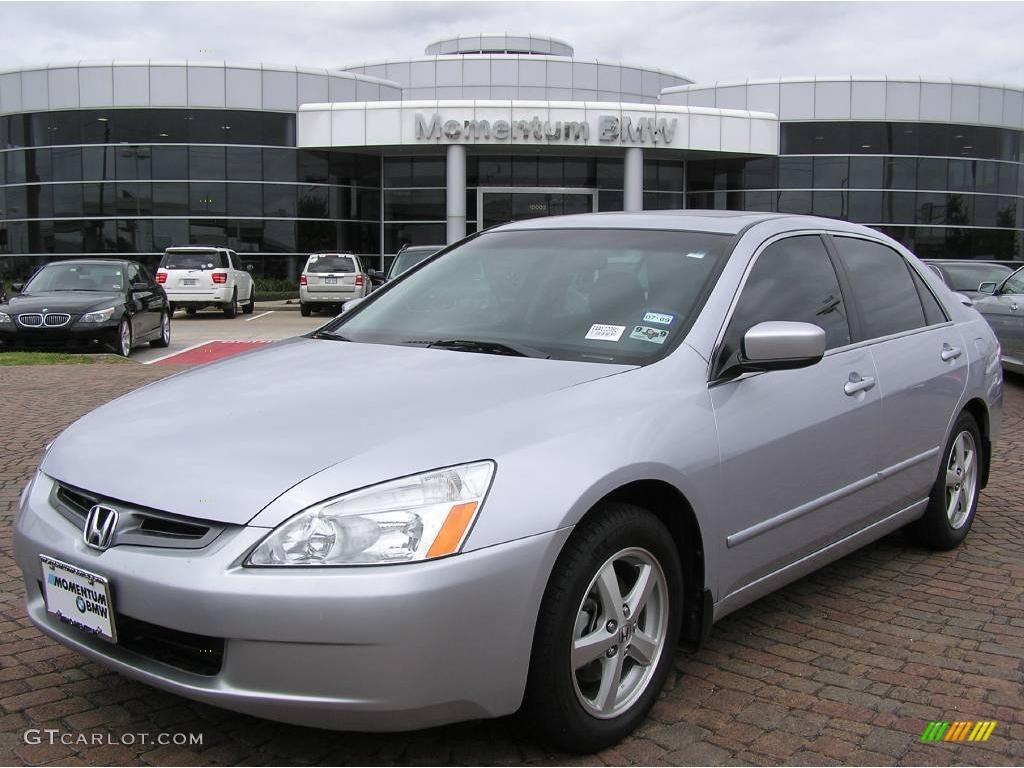 2004 satin silver metallic honda accord ex l sedan 6418515 photo 2 car color. Black Bedroom Furniture Sets. Home Design Ideas