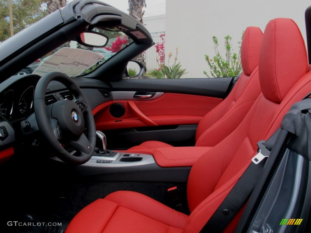 Coral Red Interior 2012 Bmw Z4 Sdrive28i Photo 64321917