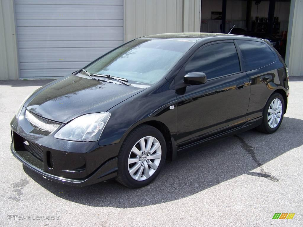 2005 nighthawk black pearl honda civic si hatchback. Black Bedroom Furniture Sets. Home Design Ideas