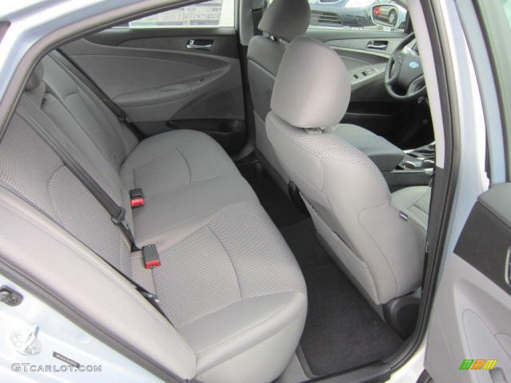 Gray Interior 2013 Hyundai Sonata Gls Photo 64329525