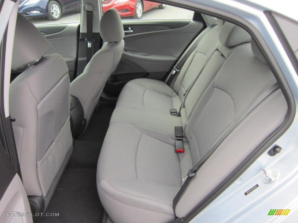 Gray Interior 2013 Hyundai Sonata Gls Photo 64329532