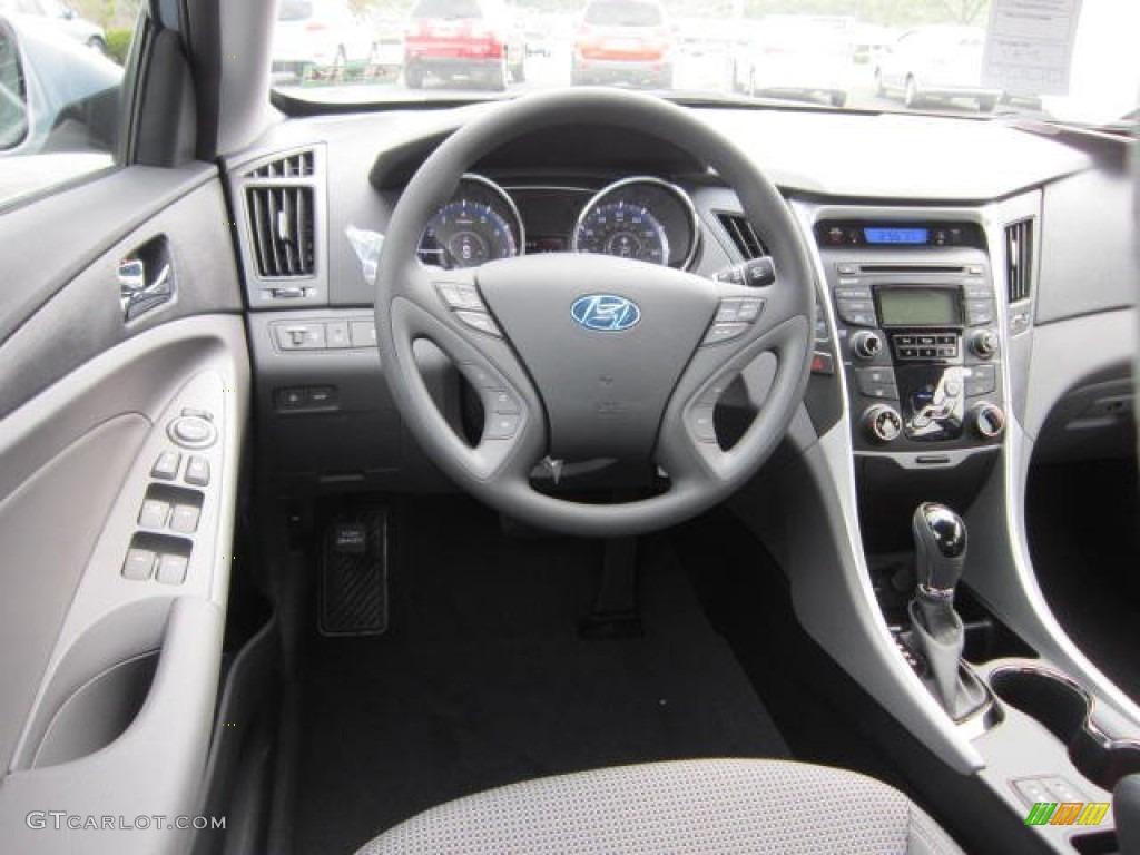 2013 Hyundai Sonata Gls Gray Dashboard Photo 64329541