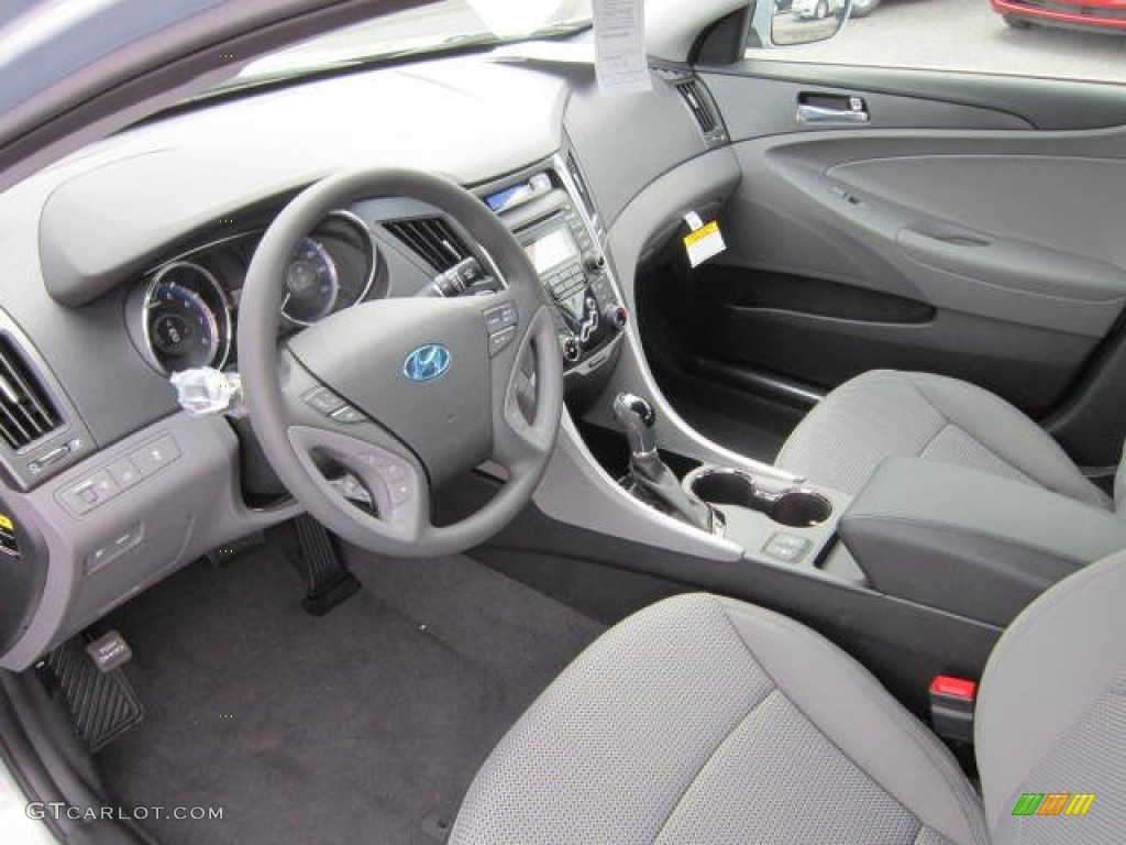 Gray Interior 2013 Hyundai Sonata Gls Photo 64329565