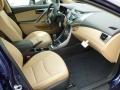 Beige Interior Photo for 2013 Hyundai Elantra #64330306