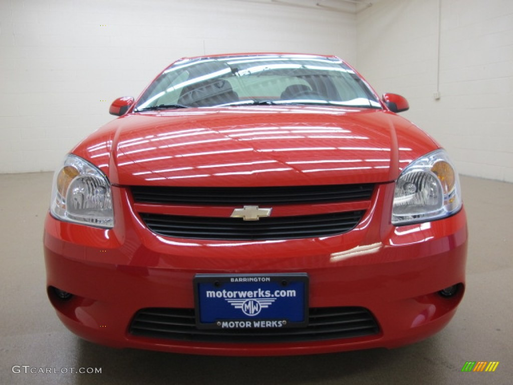 2007 Cobalt SS Coupe - Victory Red / Gray photo #1