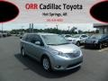 2012 Silver Sky Metallic Toyota Sienna XLE  photo #1