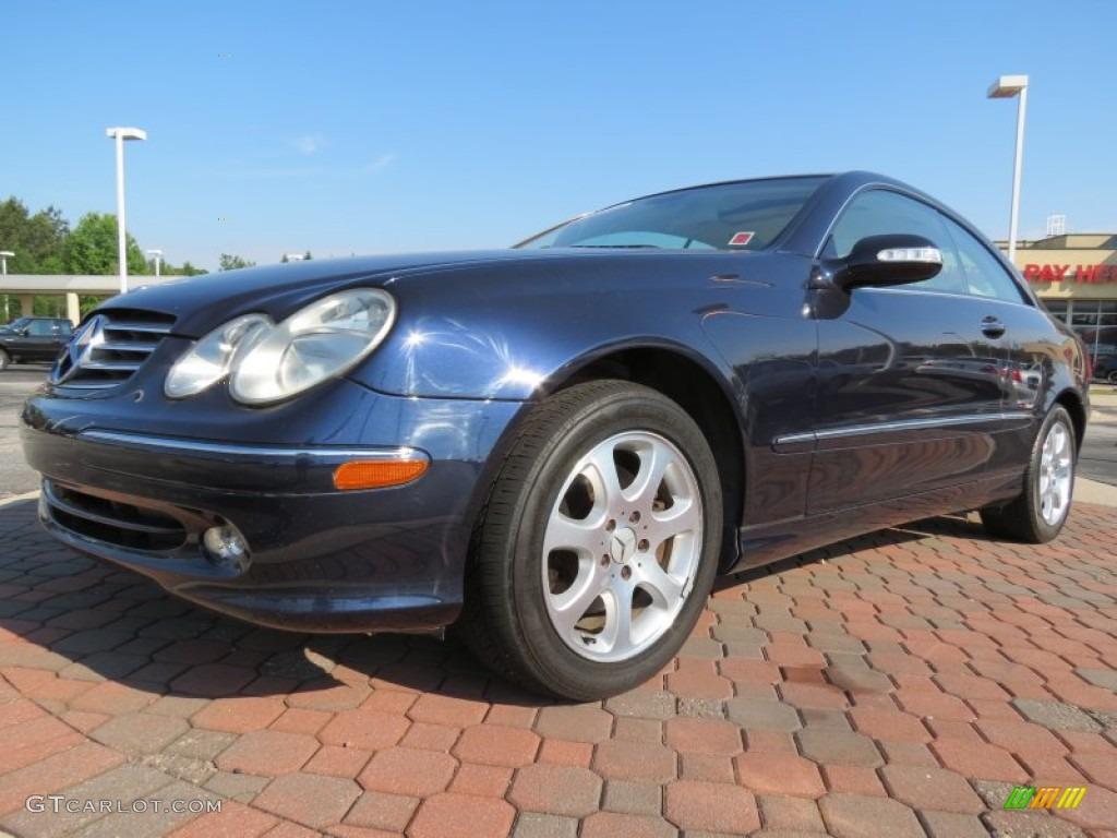 2004 Capri Blue Metallic Mercedes Benz Clk 320 Coupe 64289352 Gtcarlot Com Car Color Galleries