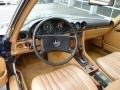 Dashboard of 1985 SL Class 380 SL Roadster