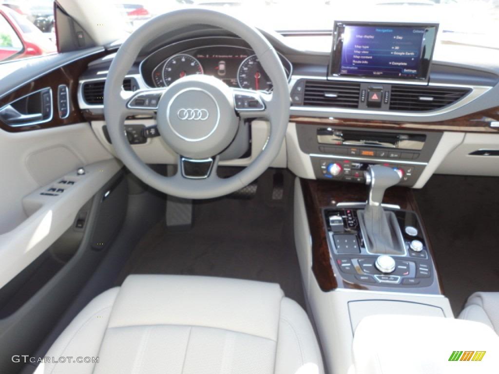 2013 Audi A7 Prestige Vs Premium Plus >> 2012 Audi A7 3.0T quattro Prestige Titanium Grey Dashboard Photo #64345400   GTCarLot.com