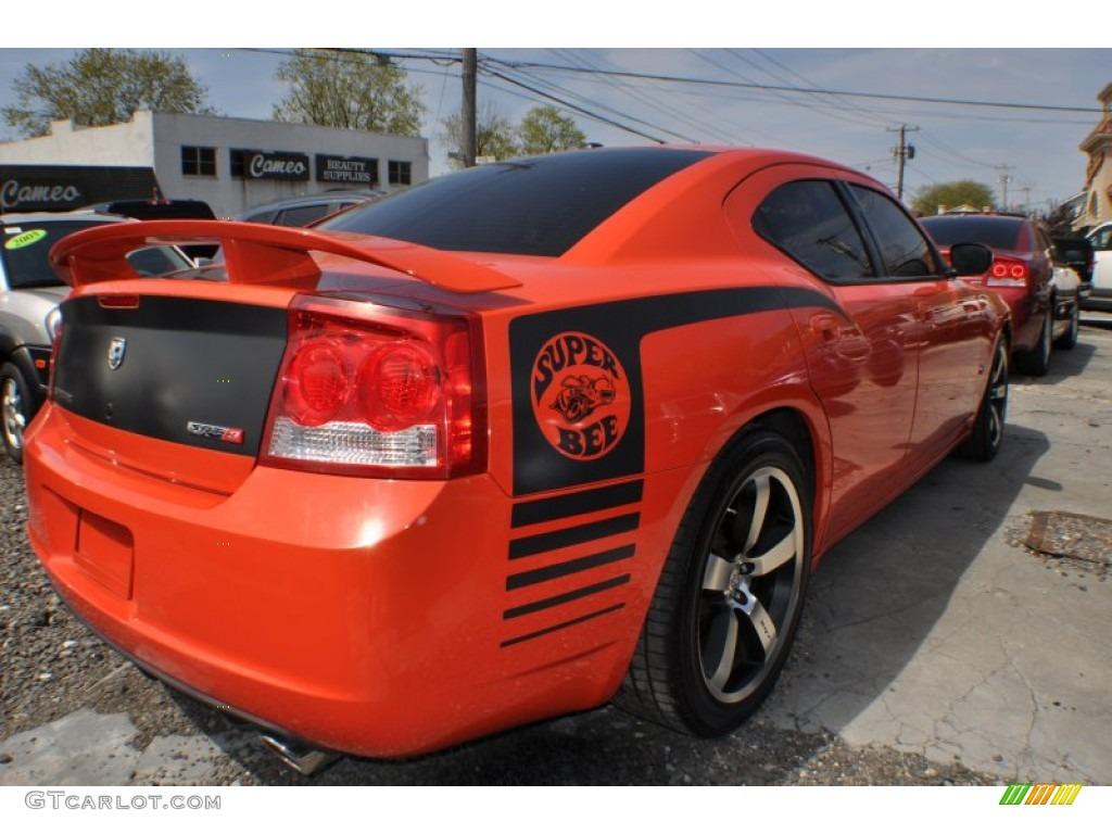 HEMI Orange Pearl 2009 Dodge Charger SRT-8 Super Bee ...