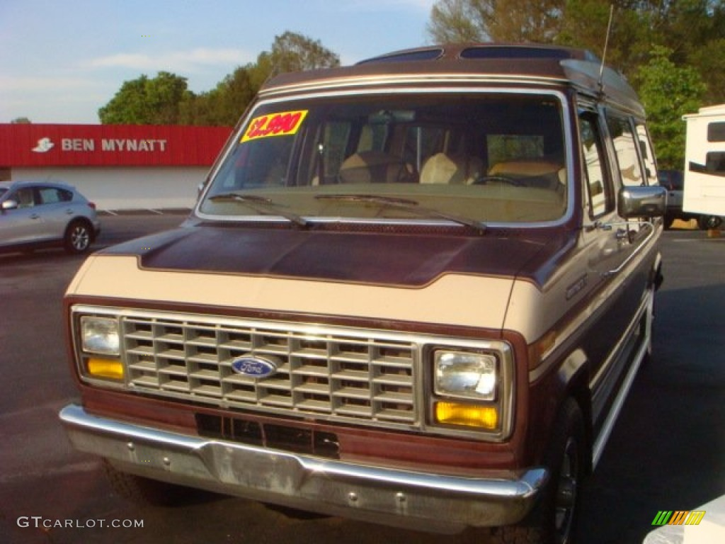 1987 Light Chestnut Ford E Series Van E150 Passenger