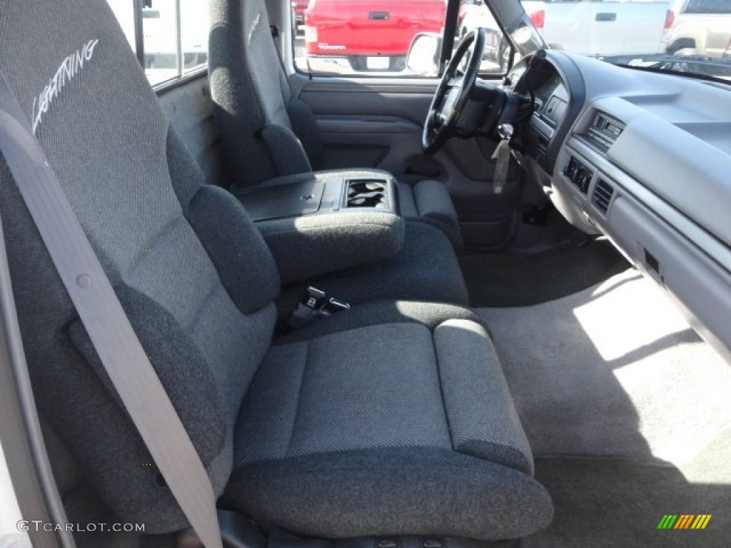 SVT Gray Interior 1995 Ford F150 Lightning Photo 64362320