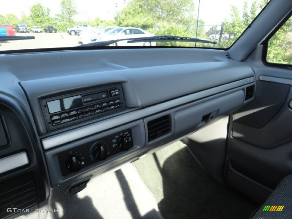 1995 Ford F150 Svt Lightning Gray Dashboard Photo 64362337