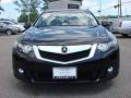 2009 Crystal Black Pearl Acura TSX Sedan  photo #8