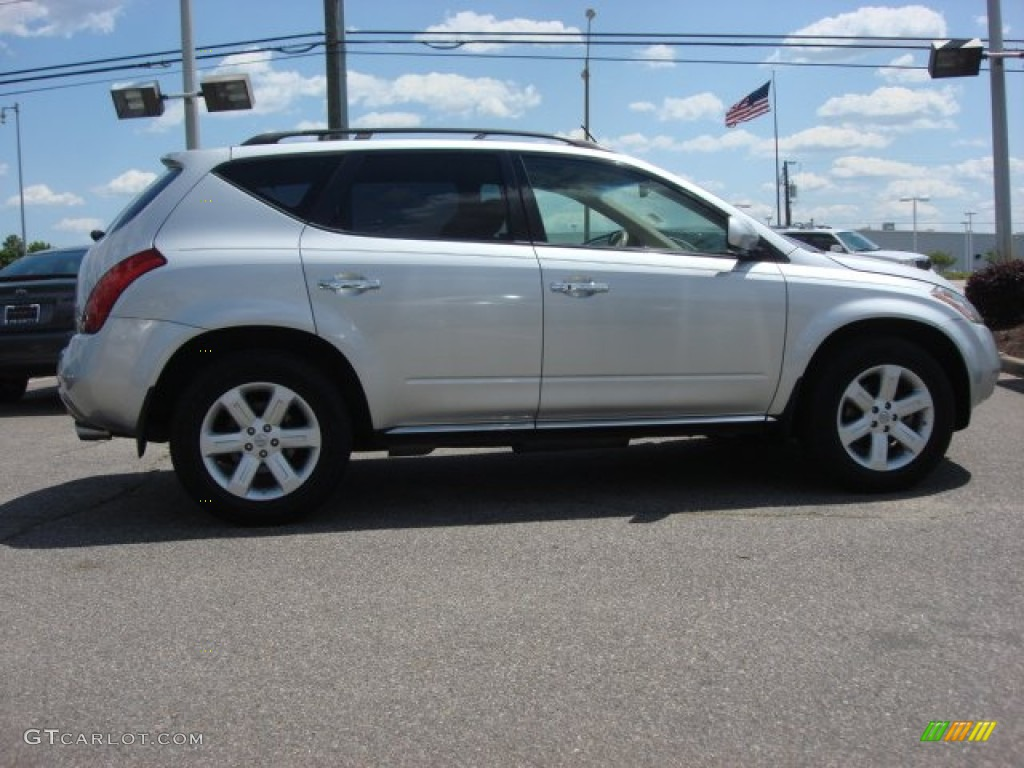 2007 Murano SL AWD - Brilliant Silver Metallic / Cafe Latte photo #6