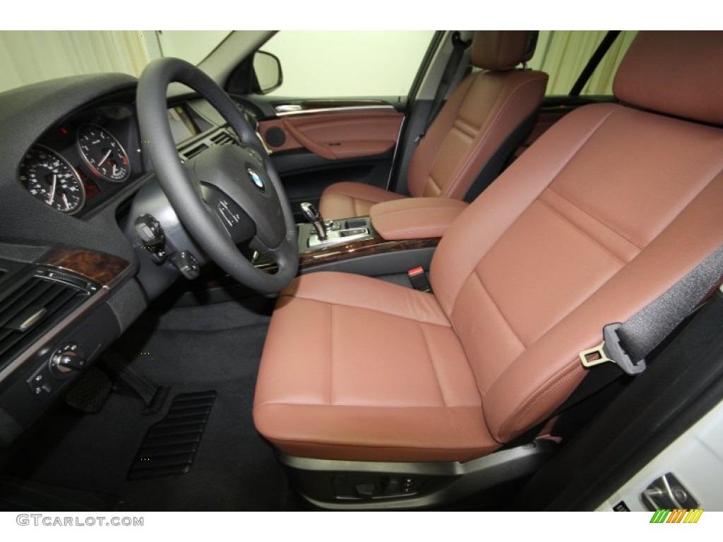 Cinnamon Brown Interior 2013 Bmw X5 Xdrive 35i Premium