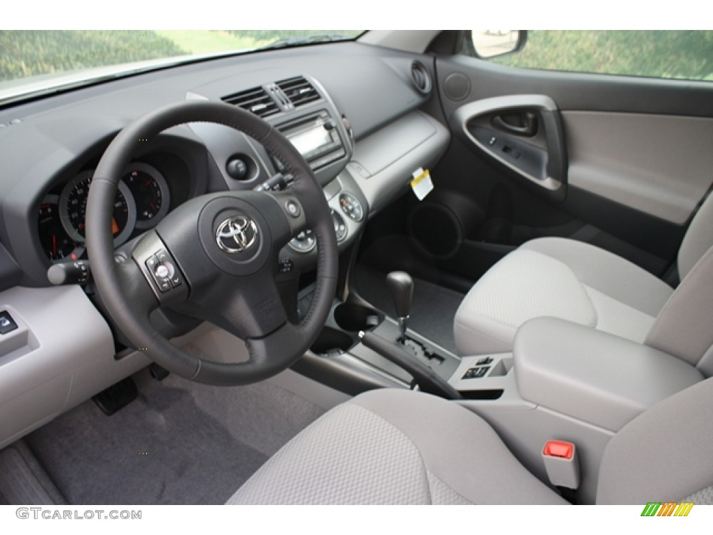 Ash Interior 2012 Toyota RAV4 V6 Limited 4WD Photo #64385934