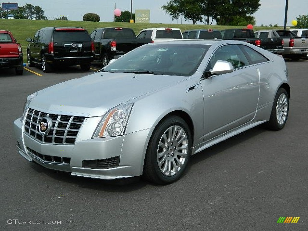 radiant silver metallic 2012 cadillac cts coupe exterior photo 64387777. Black Bedroom Furniture Sets. Home Design Ideas