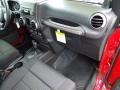 2012 Deep Cherry Red Crystal Pearl Jeep Wrangler Sport S 4x4  photo #20