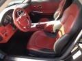 Dark Slate Gray/Red 2006 Chrysler Crossfire Interiors