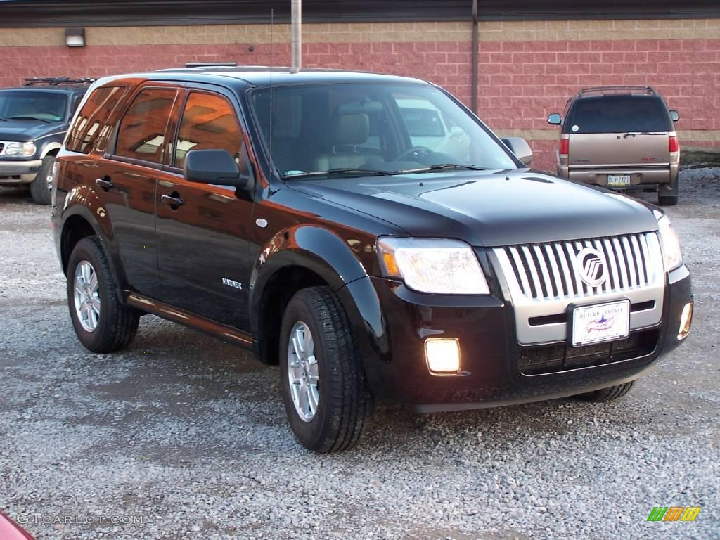 2008 Black Mercury Mariner V6 4wd 6411498 Photo 4