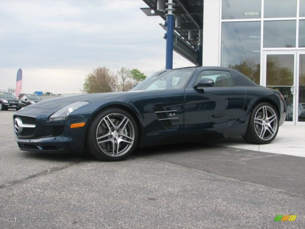amg daytona blue metallic 2011 mercedes benz sls amg