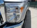 2012 Ingot Silver Metallic Ford F250 Super Duty Lariat Crew Cab 4x4  photo #9