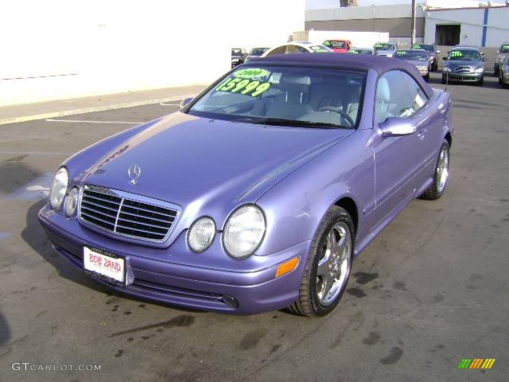 2000 azure blue metallic mercedes benz clk 430 cabriolet for Mercedes benz clk430