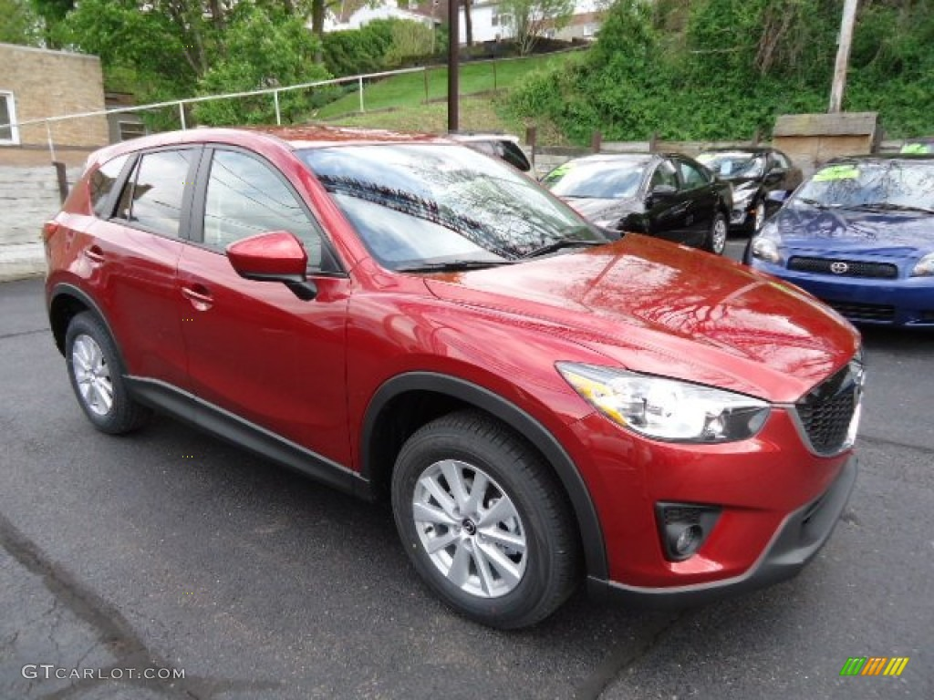 zeal red mica 2013 mazda cx 5 touring exterior photo 64415591. Black Bedroom Furniture Sets. Home Design Ideas