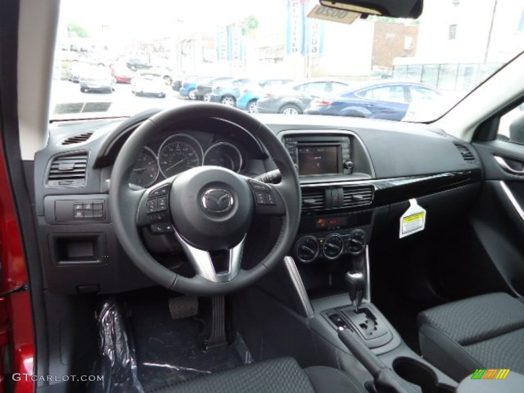 Mazda Cx 5 Color Code >> Black Interior 2013 Mazda CX-5 Touring Photo #64415633 | GTCarLot.com