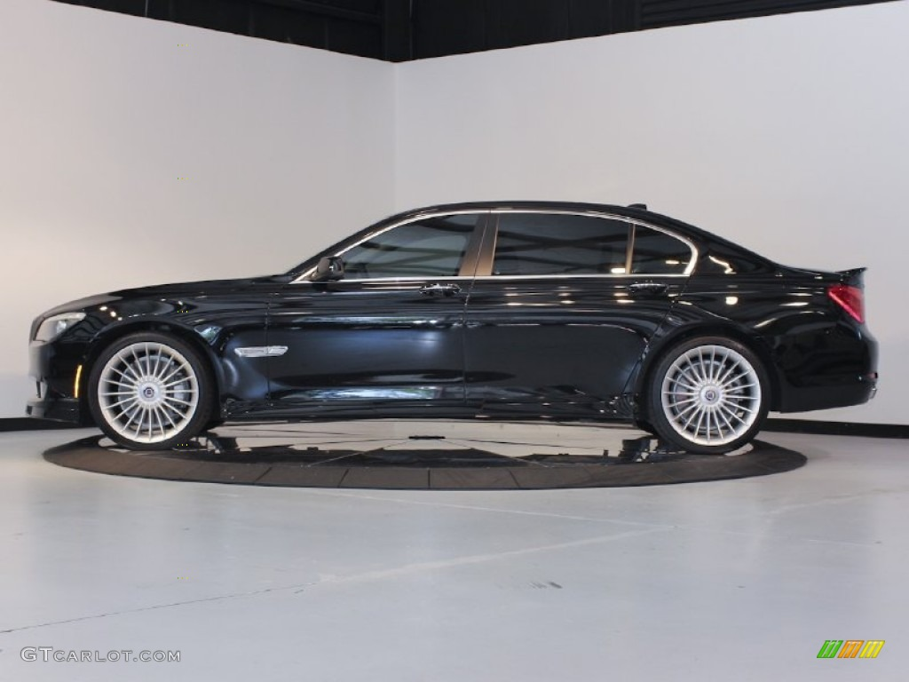 Jet Black 2011 BMW 7 Series Alpina B7 LWB Exterior Photo 64425215