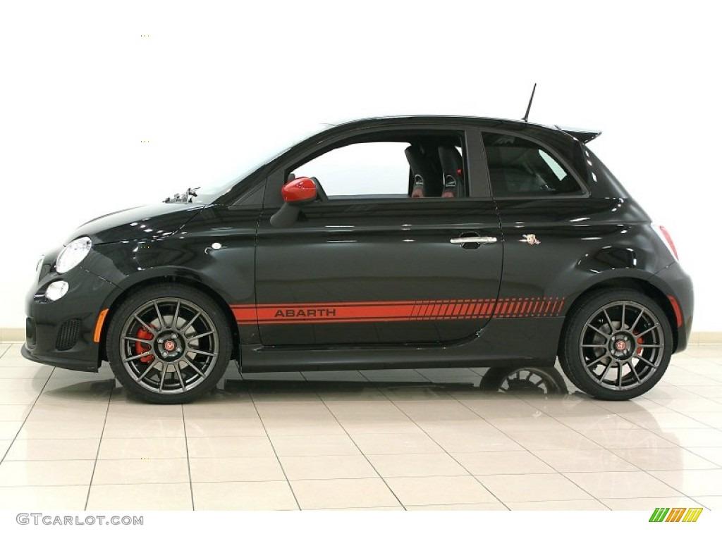 Nero Black 2012 Fiat 500 Abarth Exterior Photo 64431148