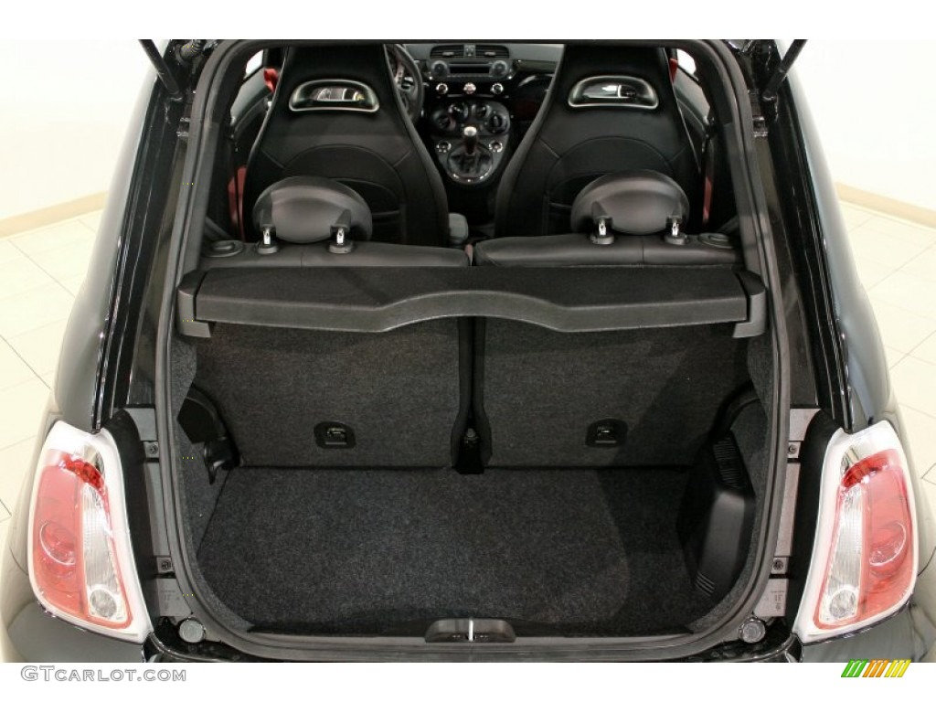 Fiat 500 Abarth Trunk 2012 Fiat 500 Abarth Trunk