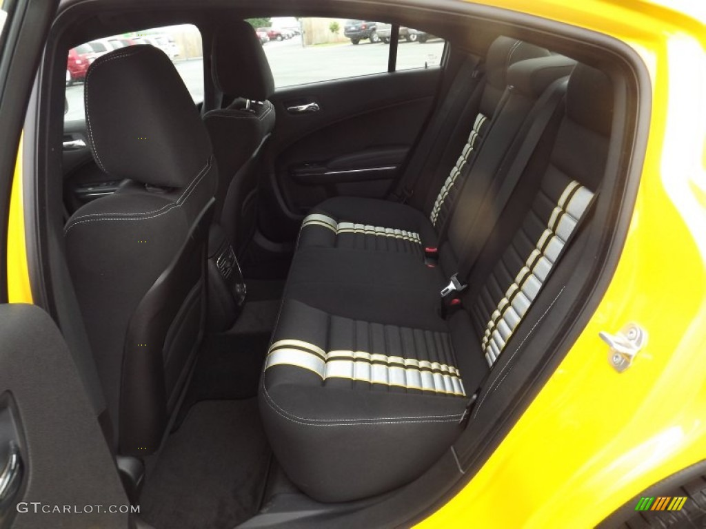 2012 Dodge Charger SRT8 Super Bee Rear Seat Photo 64432730