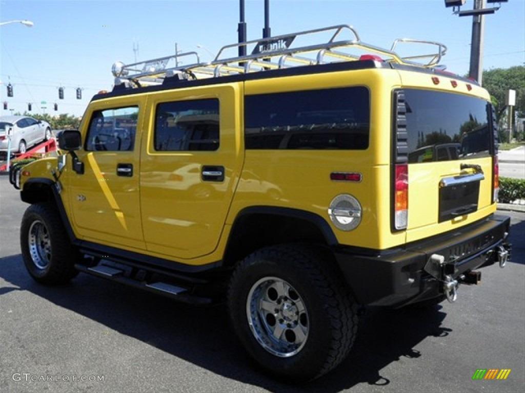 2003 H2 SUV - Yellow / Wheat photo #7
