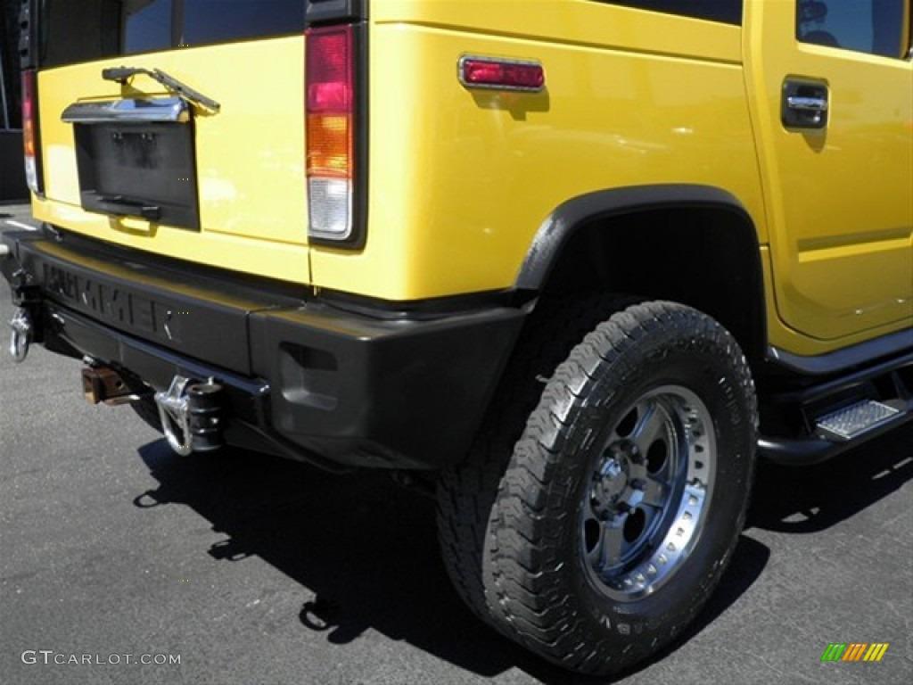 2003 H2 SUV - Yellow / Wheat photo #10