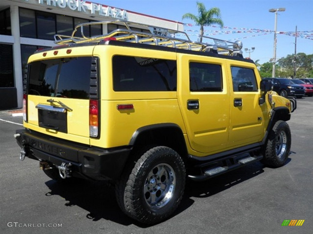 2003 H2 SUV - Yellow / Wheat photo #11