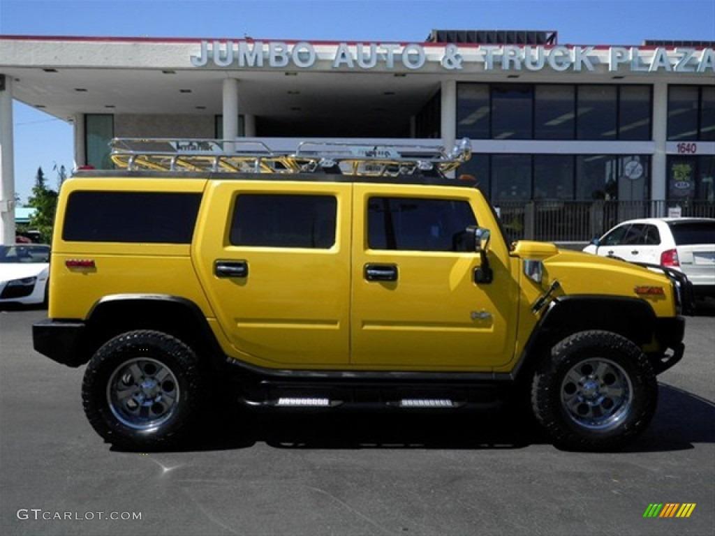 2003 H2 SUV - Yellow / Wheat photo #12
