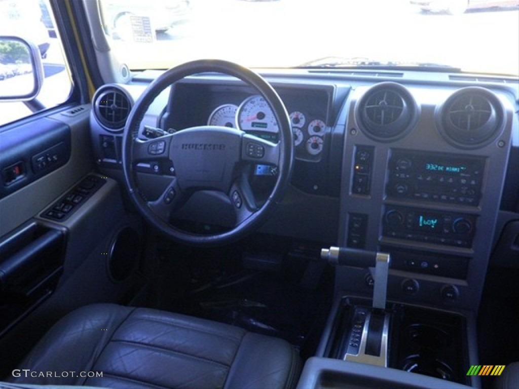 2003 H2 SUV - Yellow / Wheat photo #27