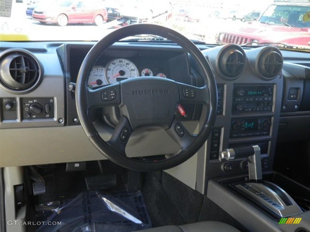 2003 H2 SUV - Yellow / Wheat photo #36