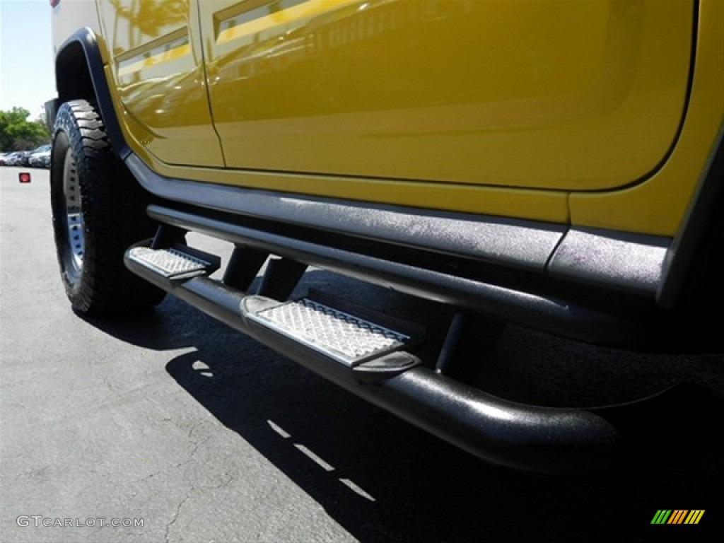 2003 H2 SUV - Yellow / Wheat photo #39