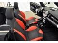 Black/Rooster Red Interior Photo for 2009 Mini Cooper #64441279