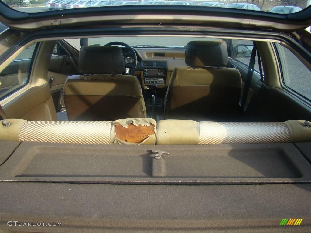 1988 gold metallic honda accord dx hatchback 6402815 photo 9 car color galleries. Black Bedroom Furniture Sets. Home Design Ideas