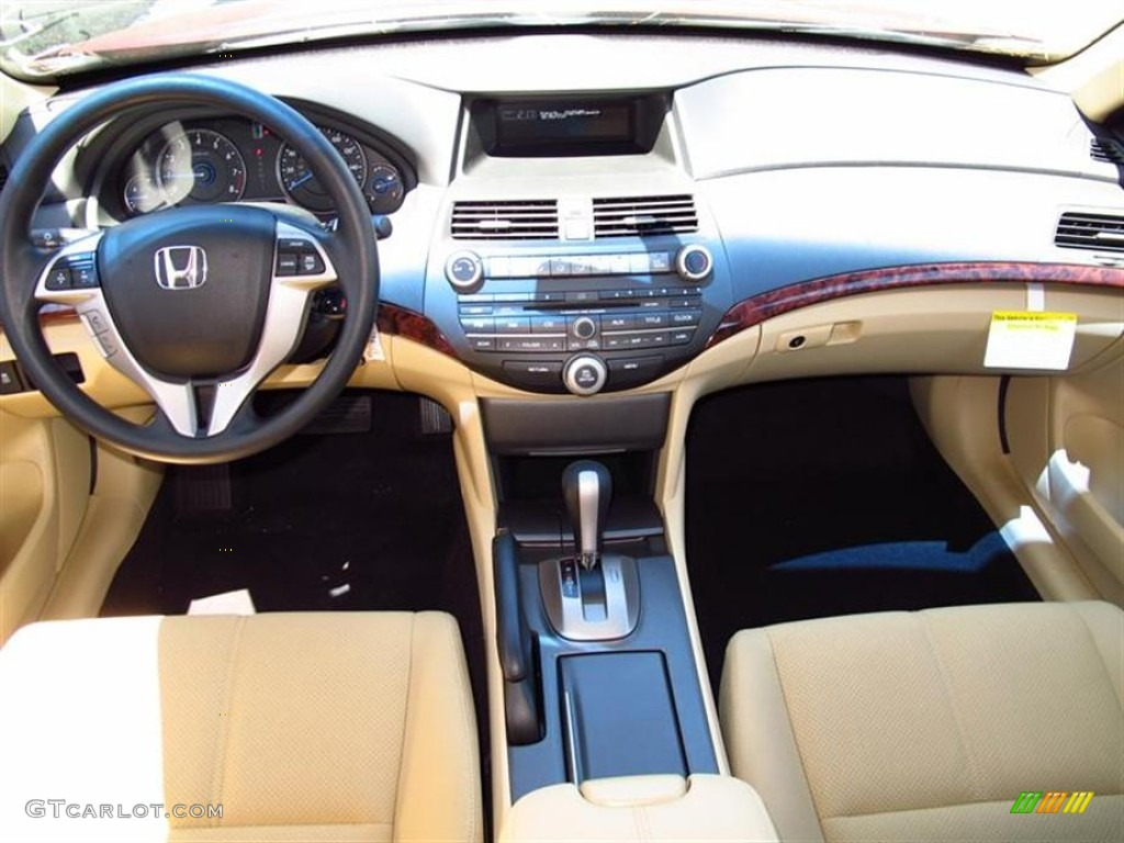 2012 Honda Accord Crosstour Ex Ivory Dashboard Photo