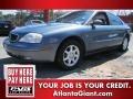 2001 Graphite Blue Metallic Mercury Sable LS Premium Sedan #64405205